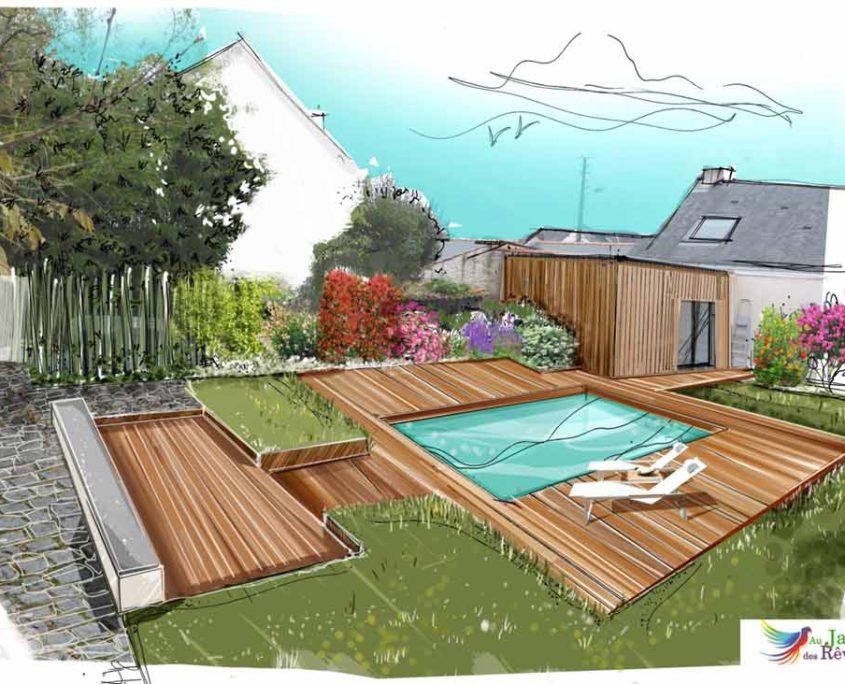 paysagiste Pornic jardin des rêves - plan 44 - paysagiste La Plaine sur Mer