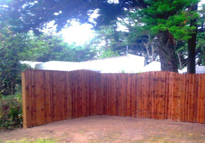Pornic clôture en bois paysagiste 44 Au Jardin des Rêves