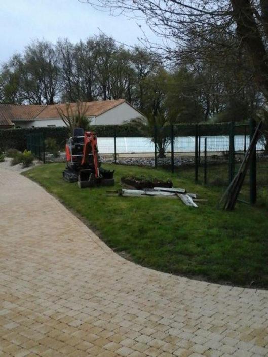 Terrain pétanque 44 paysagiste 44 - au jardin des reves à la plaine sur mer
