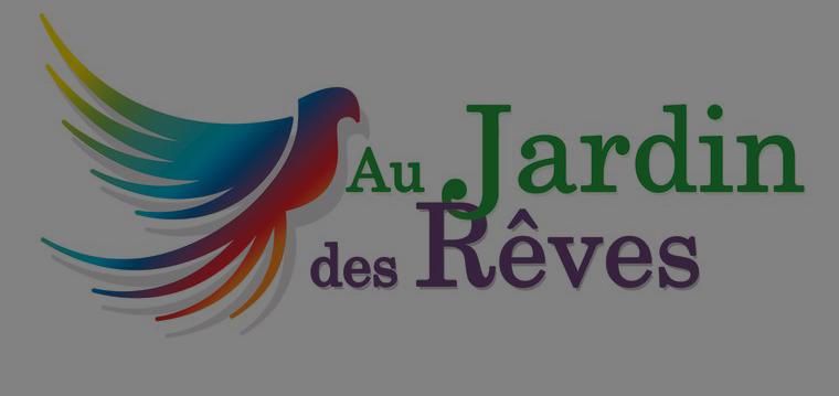 Logo Au Jardin des Rêves à La Plaine sur Mer - effet sombre
