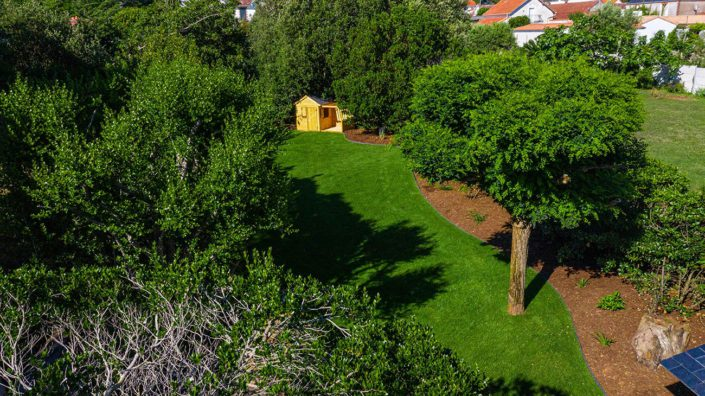 La Plaine sur Mer - Gazon de placage - paysagiste Au Jardin des Rêves